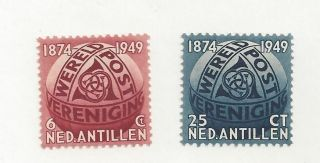 Netherlands Antilles 206 - 207 Mh photo