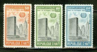Haiti Scott 469//c169 United Nations 15th Ann $$ photo