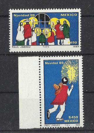 671.  Mexico 1989 Christmas photo