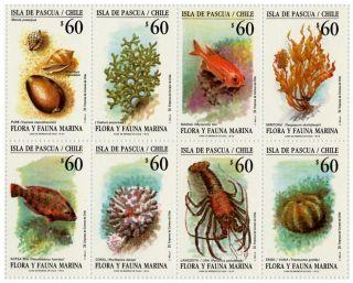 Chile 1992 Sheetlet Flora & Fauna Easter Island Scarce photo
