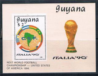 Guyana 1990 World Cup Ms photo
