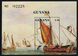 Guyana 2358 Dutch Sailing Ships photo
