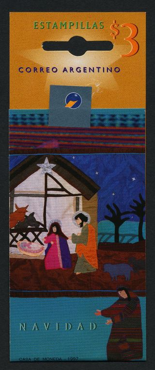 Argentina 1984i Booklet Christmas photo