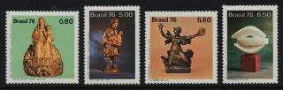 Brazil 1485 - 8 Art,  Sculpture photo