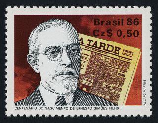 Brazil 2079 Ernesto Simoes Filho,  Publisher,  A.  Tarde photo