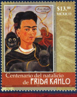 2540 Mexico 2007 - Frida Kahlo,  Painter,  Famous People, photo