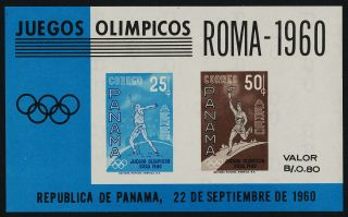 Panama C237a Olympic Games,  Athletics photo