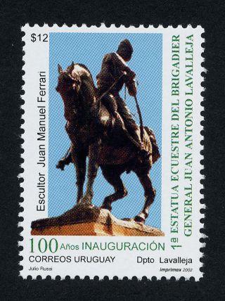 Uruguay 1972 Statue,  Horse photo