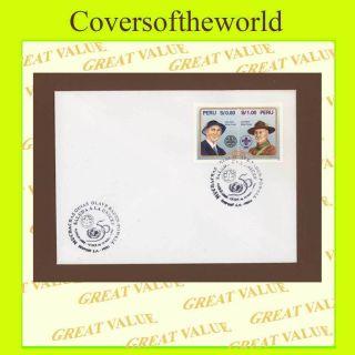 Peru 1996 Guides/unicef Cancel Cover photo