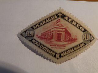 Nicaragua Stamp - Sc C280 - 1946 - photo