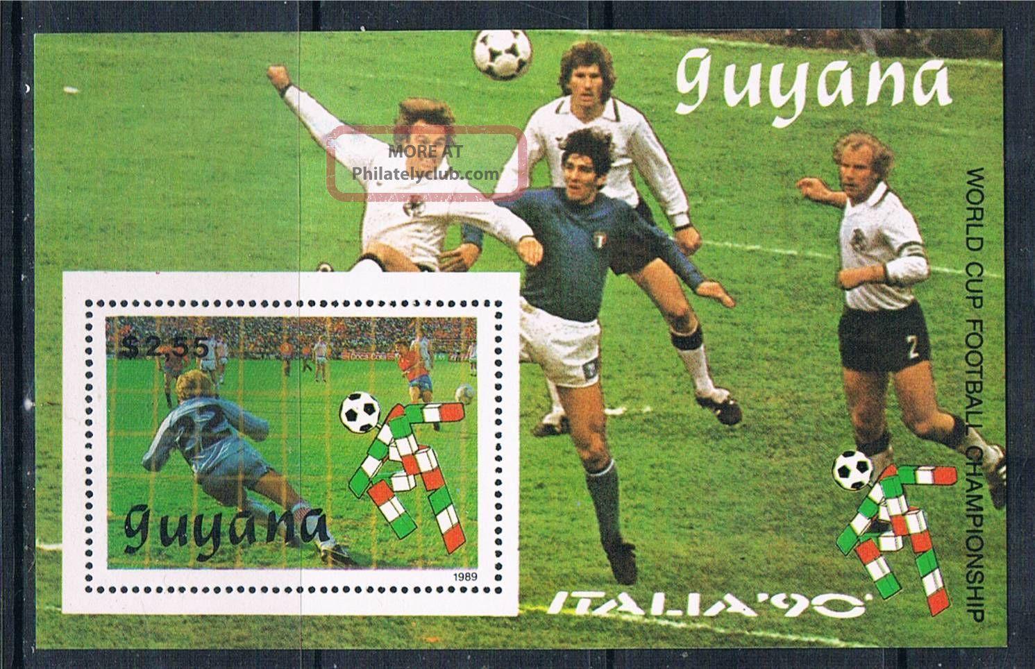 Guyana 1989 World Cup Ms 2222 Latin America photo