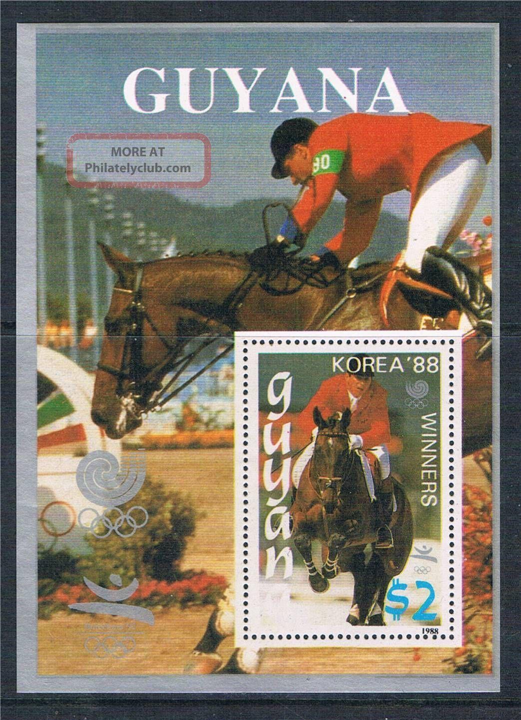 Guyana 1988 Olympics Ms Silver 2016 Latin America photo