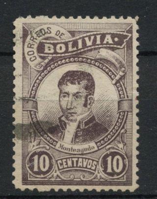 Bolivia 1897 Sg 80,  10c Monteagudo A61757 photo