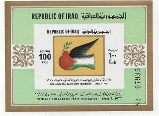 Iraq No 811 Souvenir Sheet photo