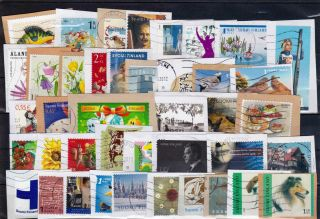 Kiloware From Finland.  Eurostamps At Least 200.  More Than 100 Diffrent photo