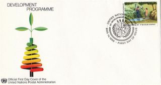 United Nations 1986 Development Programme First Day Cover York Shs photo