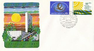 United Nations 1981 Sources Of Energy First Day Cover York Shs photo