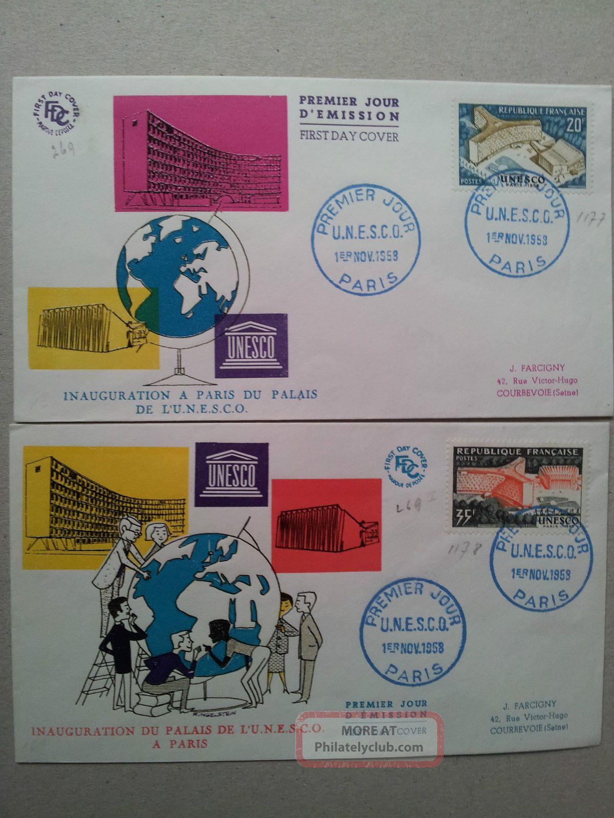Unesco Office in Paris of Unesco in Paris Stamps