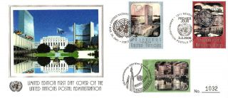 United Nations Postal Administration,  Fdc,  2003,  2005 & 2006,  Ny,  Geneva,  Vienna photo