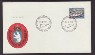 Greenland 140 Fish 1981 Unaddressed Fdc T478 photo