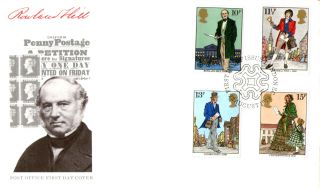 22 August 1979 Sir Rowland Hill Post Office Unadd First Day Cover London Ec Shs photo