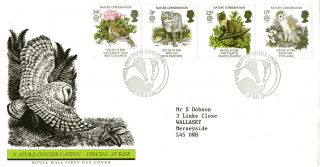 20 May 1986 Nature Conservation Royal Mail First Day Cover Lincoln Shs photo