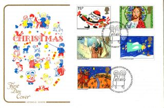 18 November 1981 Christmas Cotswold Unaddressed First Day Cover Bethlehem Shs photo