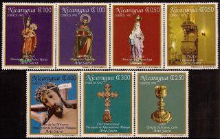 Nicaragua Sacred Art Sc 2028 - 2034 1994 photo