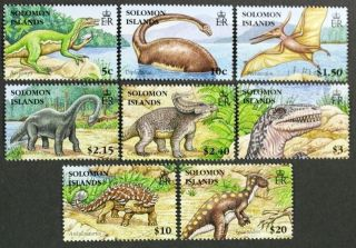 Solomon Islands 2006 1062 - 69 Dinosaurs Nh Cv$15 photo