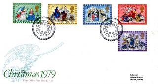 21 November 1979 Christmas First Day Cover Bethlehem Shs (p) photo