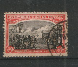 France - - Old Poster Stamp - Automobile - Club De France photo
