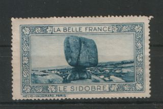 France - Mh - Old Poster Stamp - Le Sidobre photo