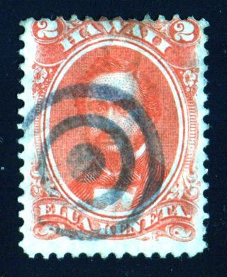 Hawaii 31 With Black Two Ring Cancel photo