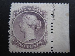 Nova Scotia - Scott 9 - Mh - Cat Val $12.  00 photo