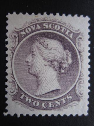 Nova Scotia - Scott 9 - Mh - Cat Val $12.  00 (2) photo