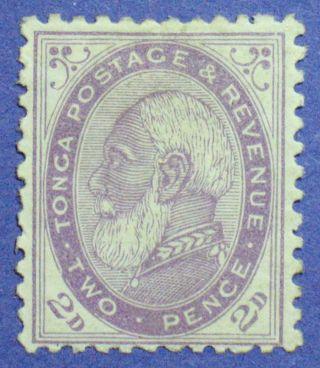 1887 Tonga 2d Scott 2 S.  G.  2b Cs00840 photo