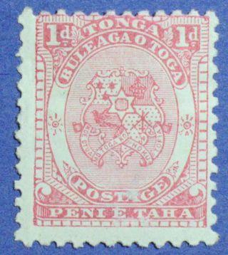 1892 Tonga 1d Scott 10 S.  G.  10 Cs00856 photo