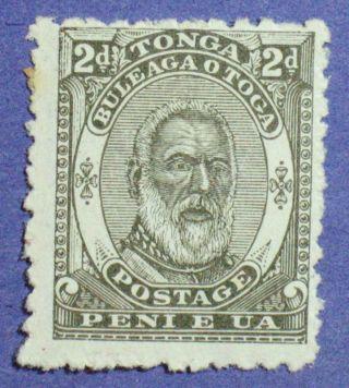 1892 Tonga 2d Scott 11 S.  G.  11 Cs00863 photo