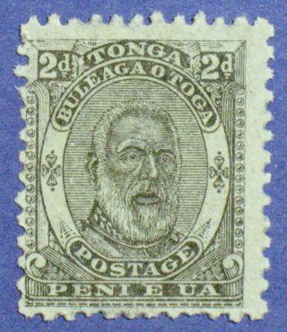 1892 Tonga 2d Scott 11 S.  G.  11 Cs00864 photo