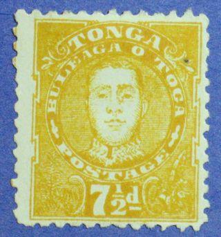 1895 Tonga 7 1/2d Scott 32 S.  G.  35 Cs00881 photo
