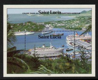 St Lucia 976 - 80 Cruise Ships photo