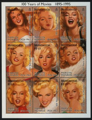Montserrat 860 Movies,  Marilyn Monroe photo