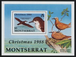 Montserrat 703 - 6 Birds,  Christmas photo