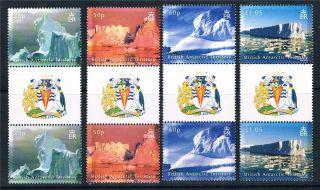 British Antarctic 2007 Icebergs Gut Prs Sg456/9 photo