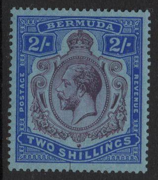 Bermuda Sg88c 1927 2/=