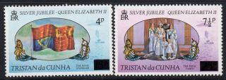 Tristan Da Cunha Sg232/3 1978 Surcharges photo