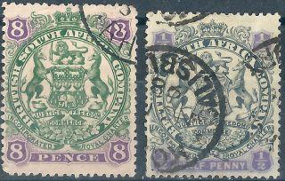 Rhodesia.  1897.  Victoria. .  (2503) photo