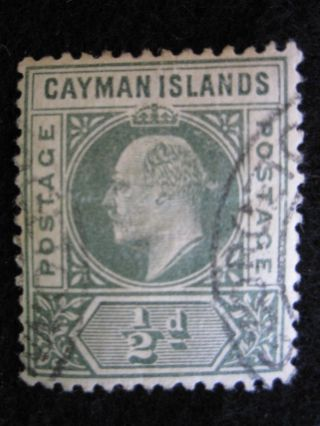 Cayman Islands - Scott 3 - Wm2 - - Cat Val 32.  50 photo