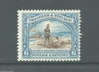 Trinidada & Tobago - 1937 - Sg235a - P12.  75 - Cv £ 12.  00 - Mounted photo