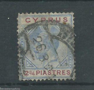 Cyprus - 1924 To 1928 - Sg109 - Cv £ 4.  75 - photo